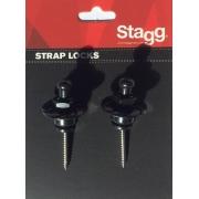 Strap Lock Stagg Preto