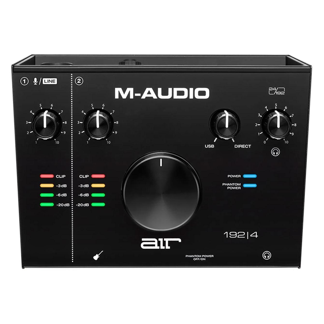 AIR 192 4 – Interface M-AUDIO de Áudio USB de 2 Canais