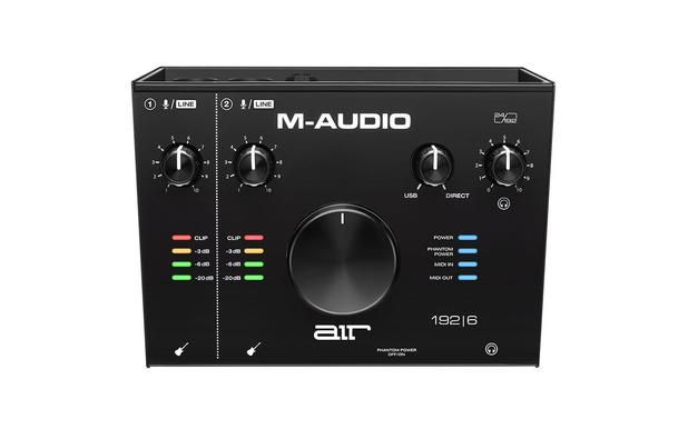 AIR 192 6 – Interface M-AUDIO de Áudio USB de 2 Canais com MIDI IN/OUT