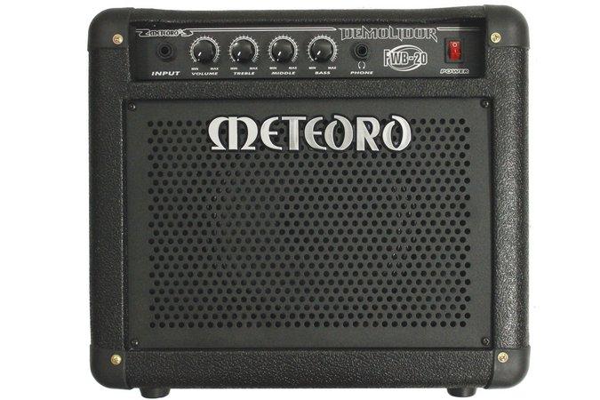 Amplificador Meteoro para Contra Baixo Demolidor FWB-20