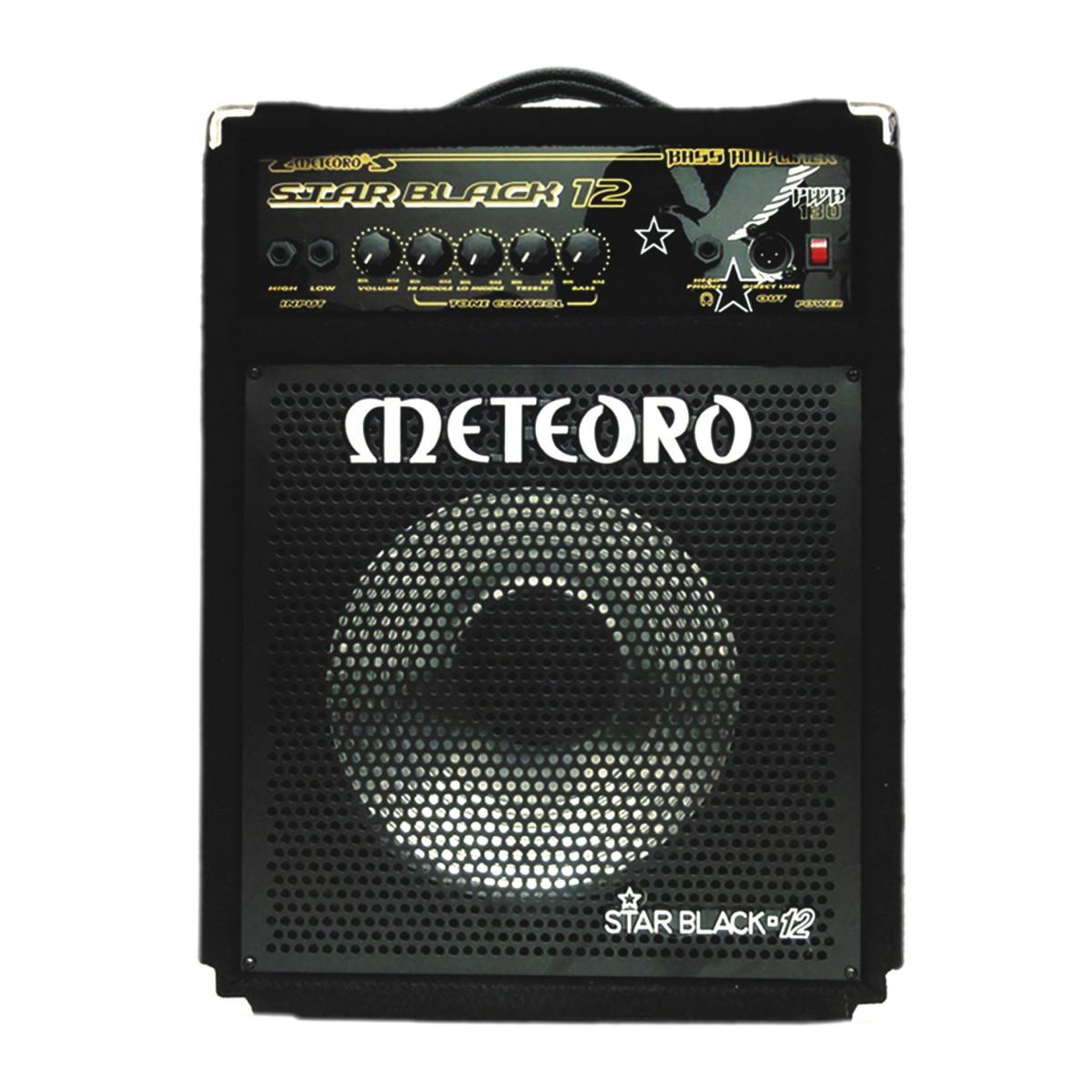 Amplificador Meteoro para Contra Baixo Star Black 12