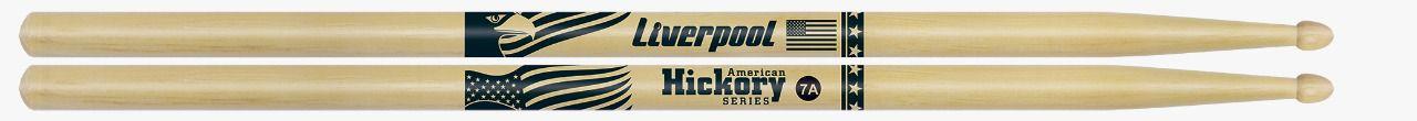 Baqueta Liverpool American Hickory 7A