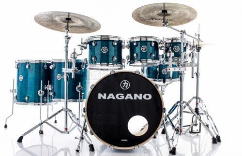 Bateria Nagano Concert Full Lacquer (deep Blue)