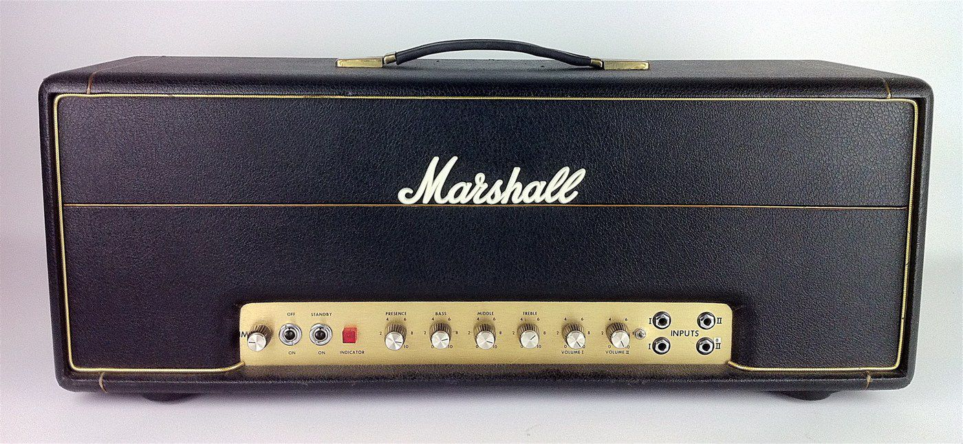Cabeçote Marshall 1987X-01B