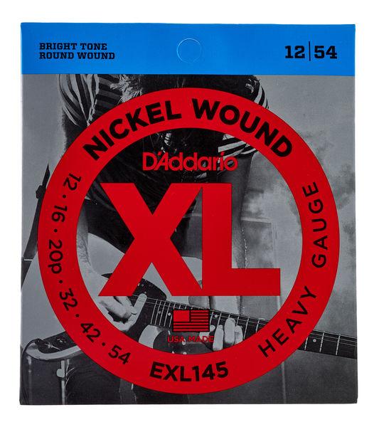 Encordoamento D'Addario Guitarra EXL145 012