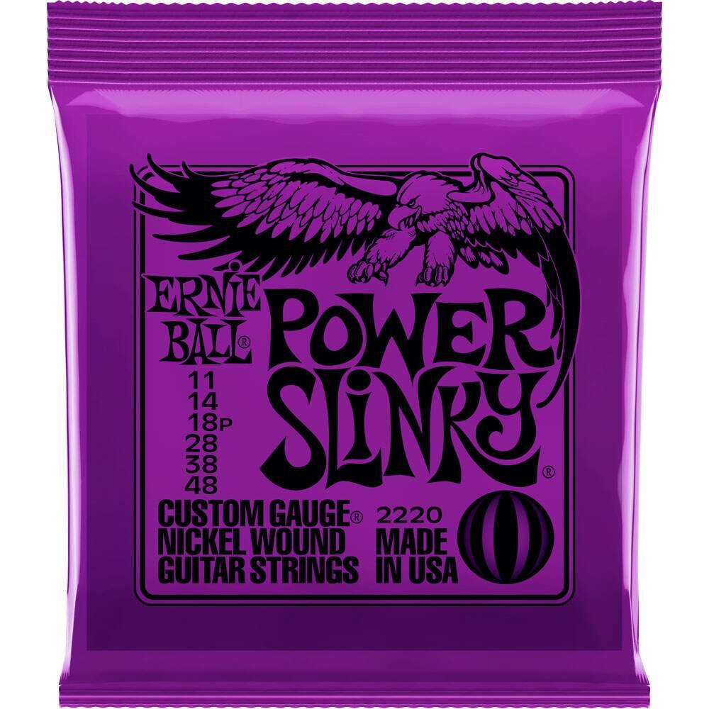 Encordoamento Guitarra Ernie Ball Power Slinky 011