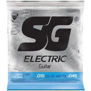 Encordoamento Guitarra SG 010