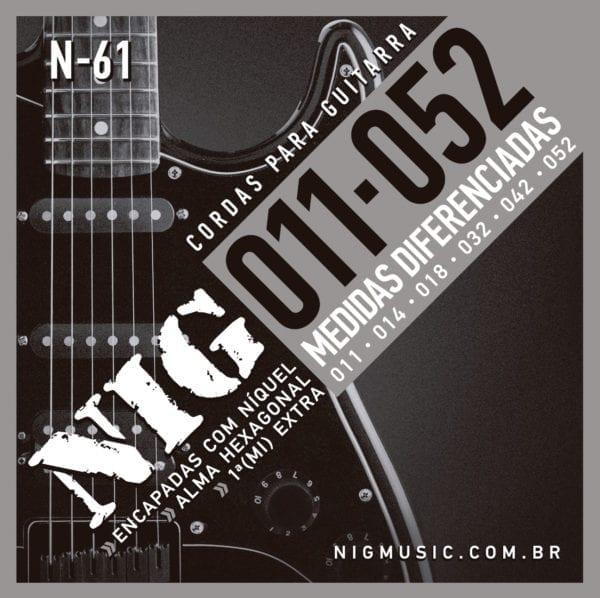 Encordoamento NIG Guitarra 011 - 052
