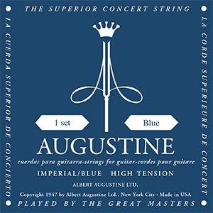 Encordoamento Violão Nylon Augustine Imperial Blue - Alta Tensão