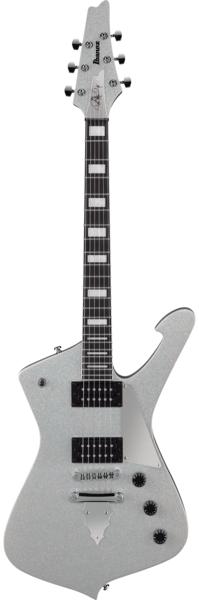 Guitarra Ibanez PS60 Silver Sparkle Paul Stanley Signature