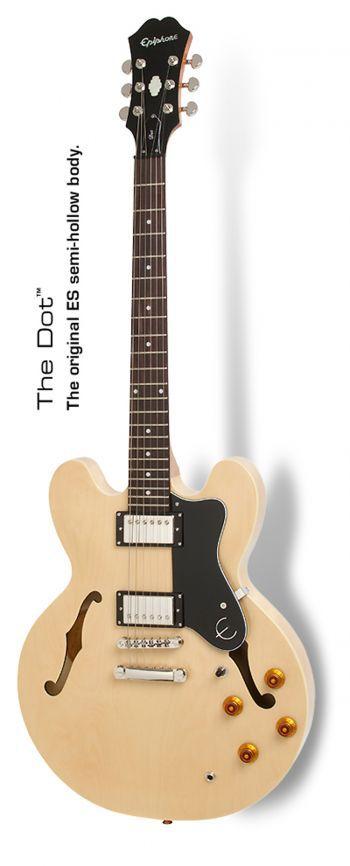 Guitarra Semi Acústica Epiphone ES-335 Dot