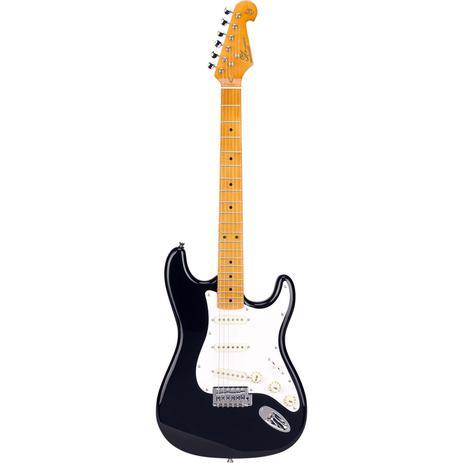 Guitarra SX Stratocaster SST57 Black