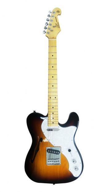 Guitarra SX Telecaster STLH ASH Sunburst