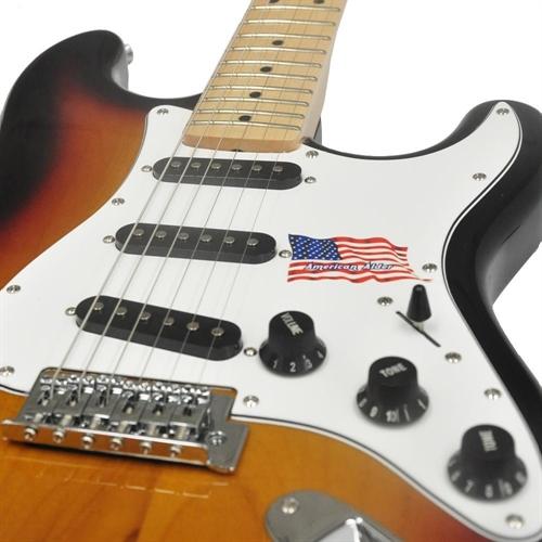 Guitarra SX Vintage American Alder Sunburst