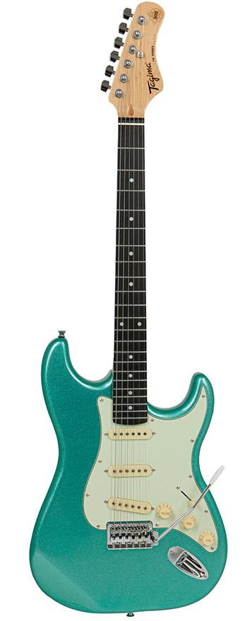 Guitarra Tagima TG-500 Metallic Surf Green Com Escudo Mint Green