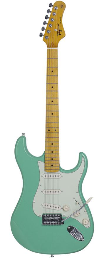 Guitarra Tagima TG-530 Surf Green Com Escudo Mint Green