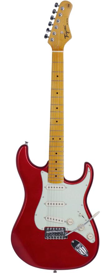 Guitarra Tagima TG-530 Metallic Red com escudo White (MR/WH)