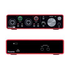 Interface Focusrite 2i2 (3ª Geração)
