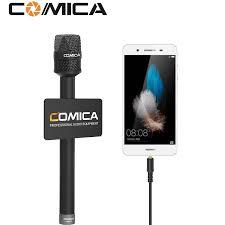 Microfone Comica Para Smartphones HRM-S