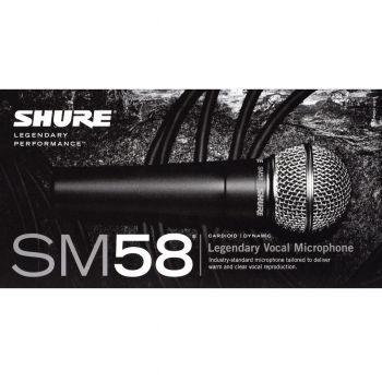 Microfone Shure SM58