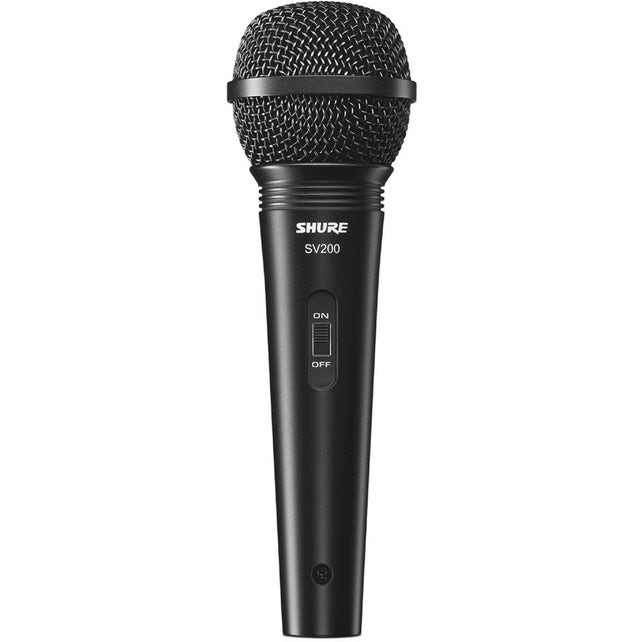 Microfone Shure Sv200