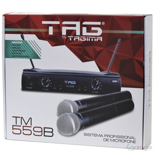 Microfone Tag Sound TM-559B