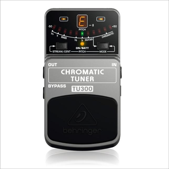 Pedal Behringer TU300 Chromatic Tuner