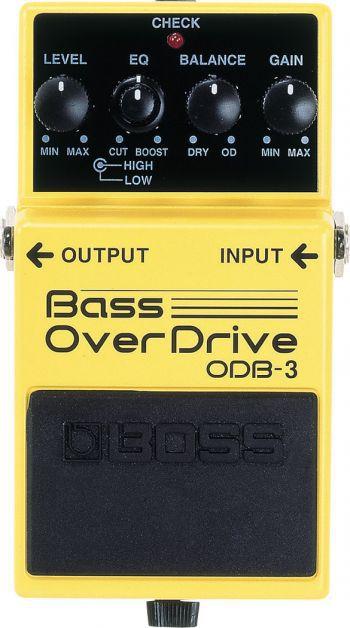 Pedal Boss Bass Overdrive ODB-3