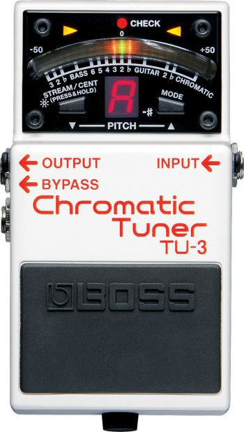 Pedal Boss Chromatic Tuner TU-3
