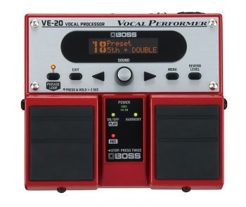 Pedal Boss Vocal Performer VE-20