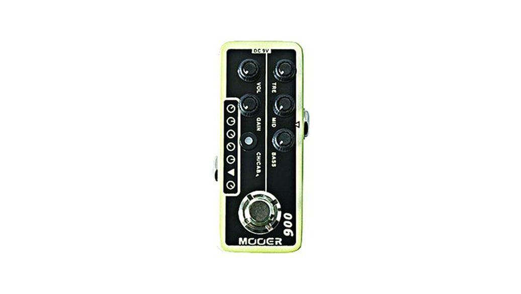Pedal Mooer Pré-Amplificador 006 US Classic Deluxe