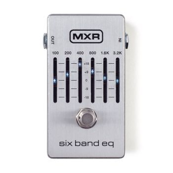 Pedal MXR Six Band Equalizer