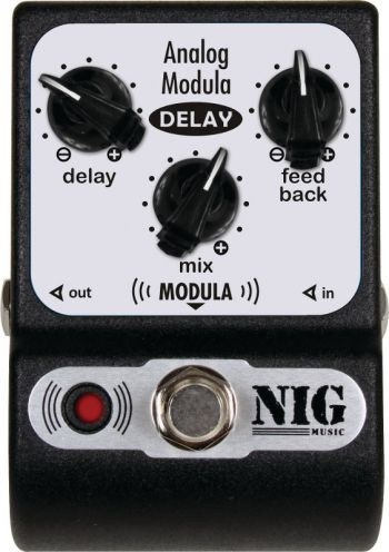 Pedal NIG Analog Delay + Modulation PADM
