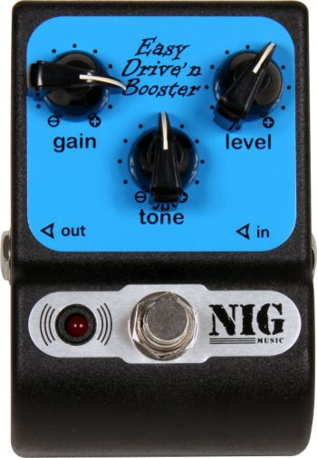 Pedal NIG Easy Drive n' Booster PED