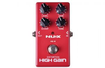 Pedal Nux Distortion High Gain HG6