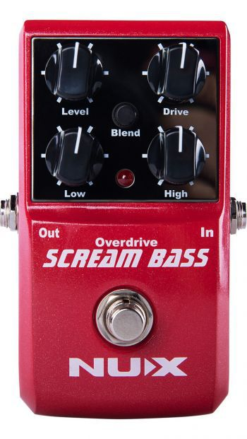 Pedal Nux Scream Bass