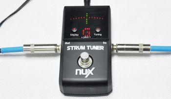 Pedal Nux Strum Tuner