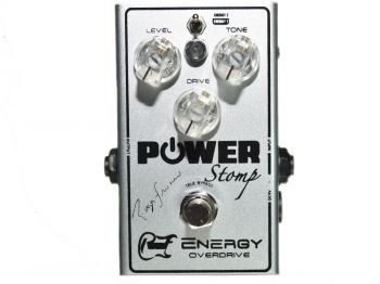 Pedal Power Stomp® Energy Overdrive Signature Roger Franco