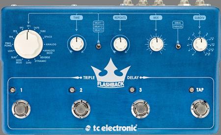 Pedal TC Eletronic Flashback Triple Delay