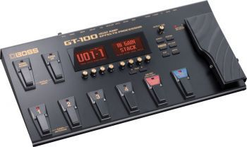 Pedaleira Boss GT-100