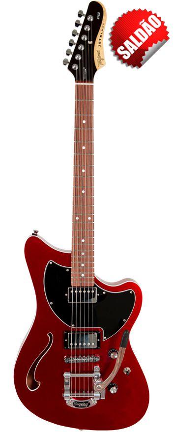 Saldão - Guitarra Tagima Série Brasil Jet Blues Deluxe C/Bigsby