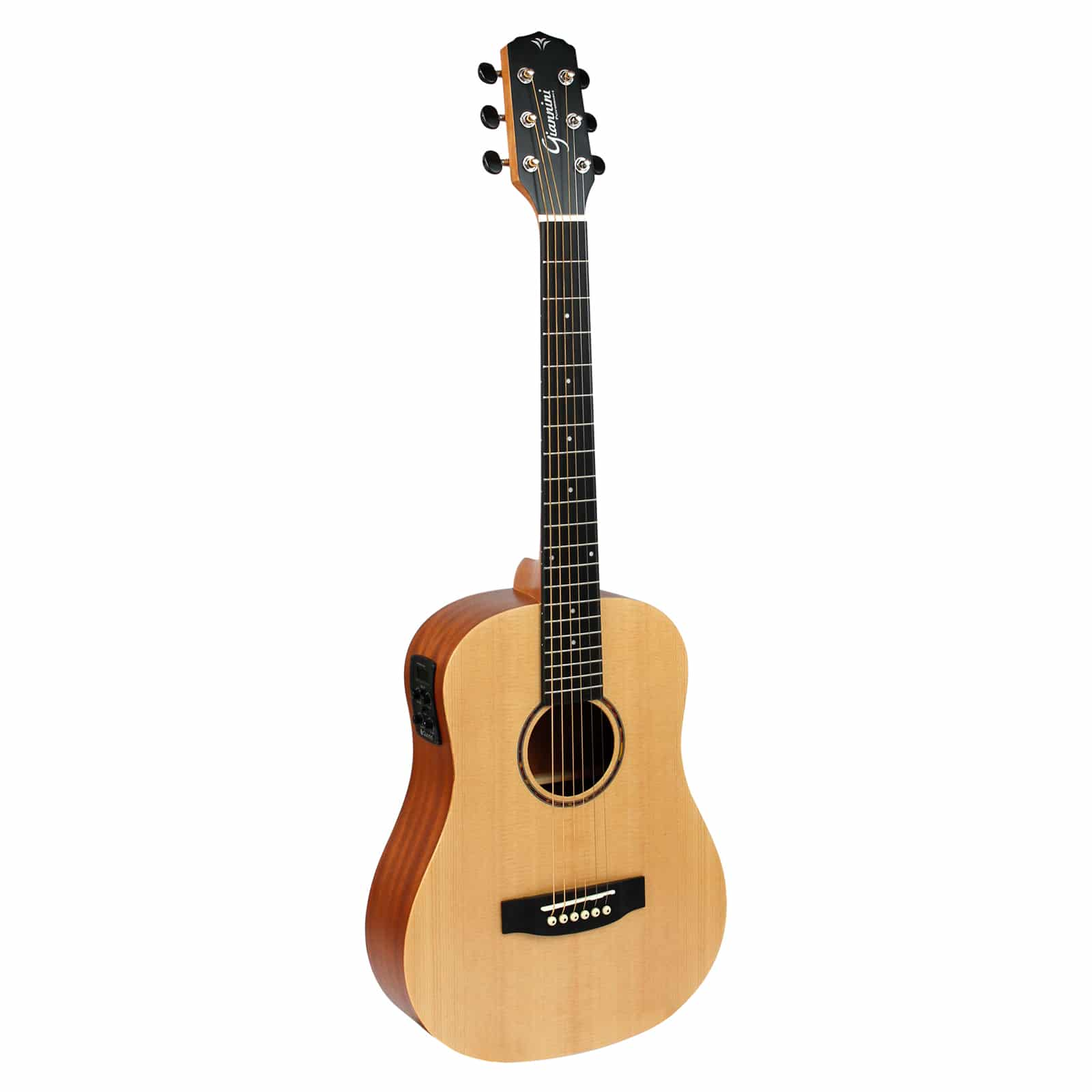 Violão Aço Travel Eletroacústico Giannini Performance GTG-36S EQ Natural Satin (NS)