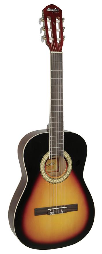 Violão Memphis AC-34 Drop Sunburst