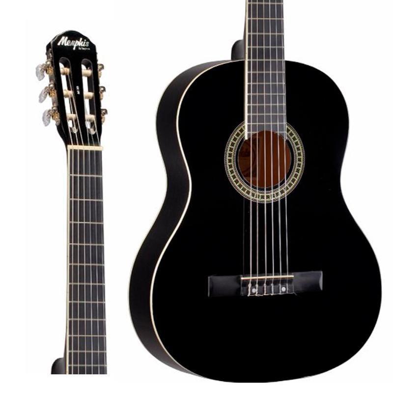 Violão Memphis Nylon AC-39 Black
