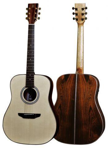 Violão Rozini natural  Folk 6 cordas RX320ATN