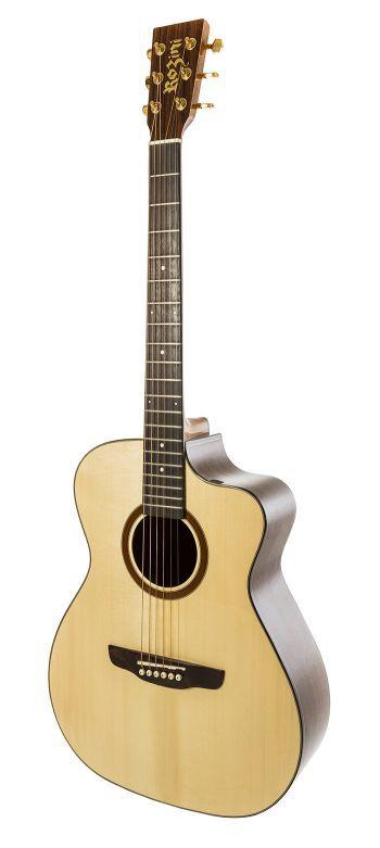 Violão Rozini RX620 ATN.LP Premium Flat Aço