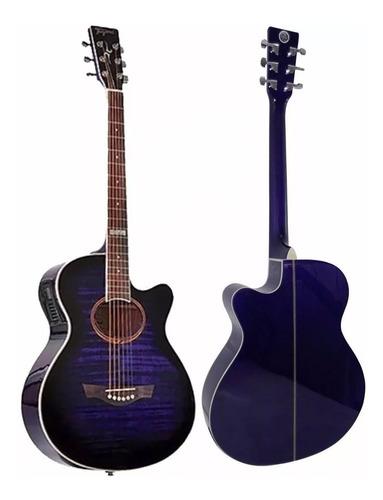 Violão Tagima Dallas Transparent Purple