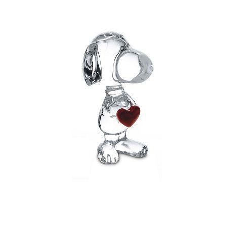 Escultura Cartoon Snoopy Heart, Baccarat, 2613001