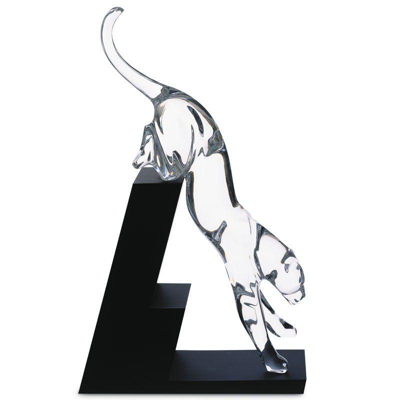 Escultura Pantera Saltando, Baccarat, 2601880