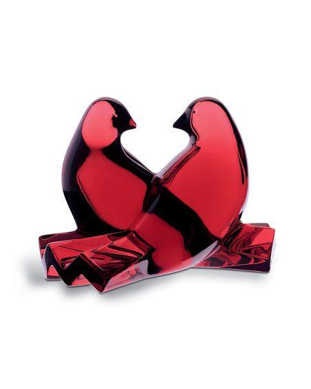 Escultura Sain valentin, Pombos, Baccarat, 2102796